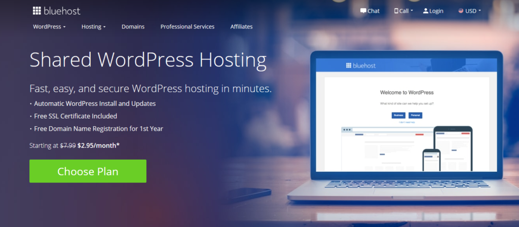 BH WordPress Hosting