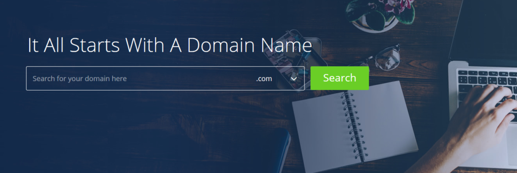 bh free domain name